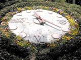 大きな花時計