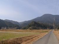 豊田の山並み