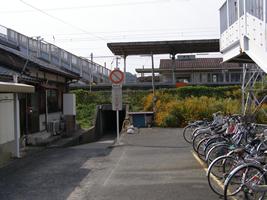 JR四辻駅