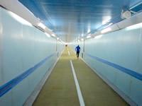 関門トンネル人道内